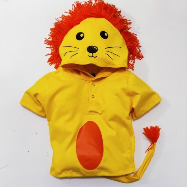 Camiseta Leão | 1 até 6 anos