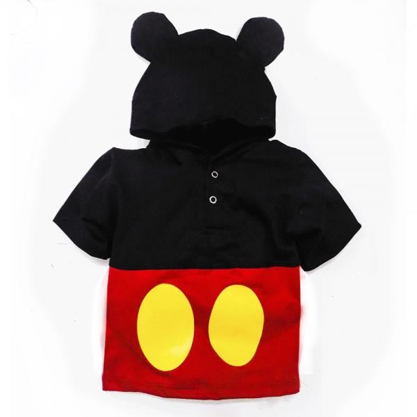 Camiseta Fantasia Mouse   1 até 6 anos