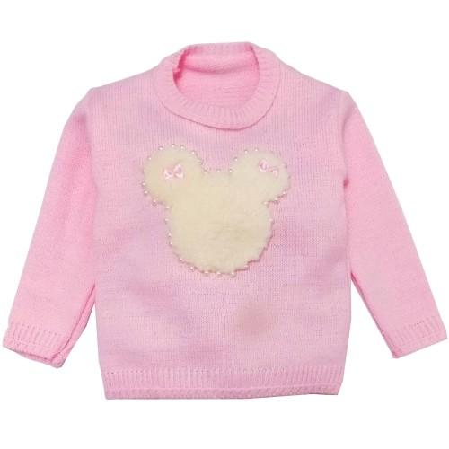 Blusa Tricot Mouse Rosa