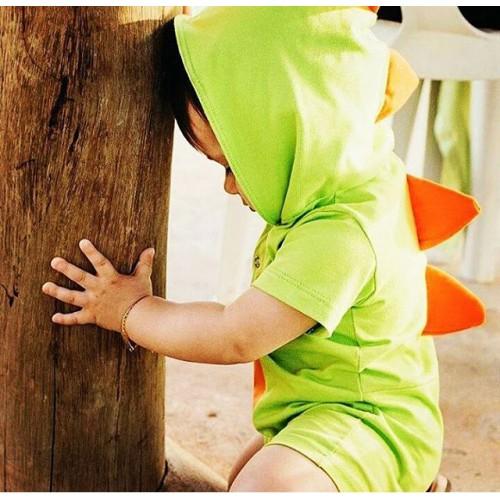 Macacão Baby Dinossauro | P até 4 anos
