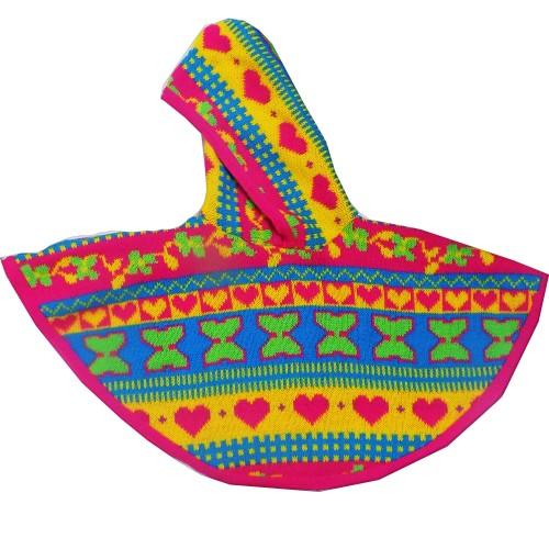 Poncho Tricot Colorido