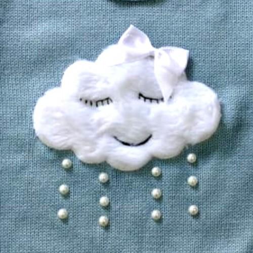 Blusa Tricot Nuvem